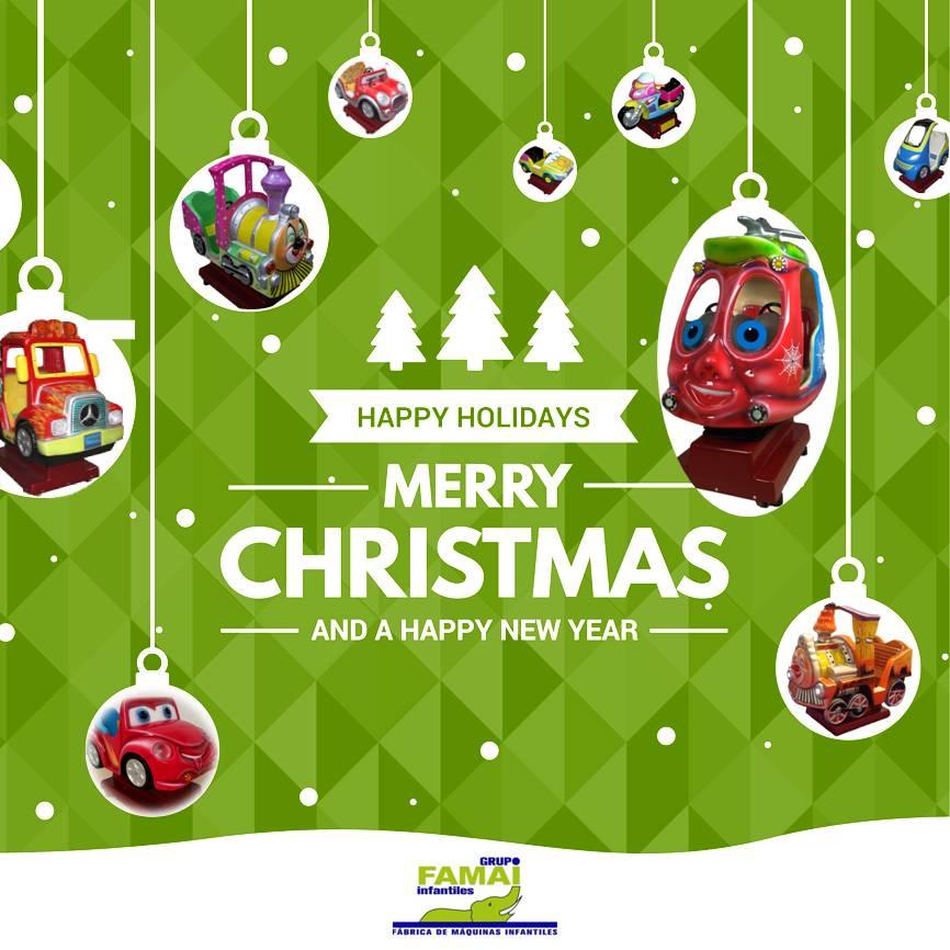 Grupo FAMAI les desea unas Felices Fiestas – Grupo Famai